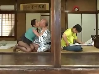 Asian Japanese daughterinlaw'_s husband is a big fool  ReMilf.com
