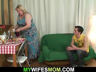 Big boobs motherinlaw