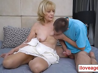 Suzana is a seventy year old granny who loves youthful cock