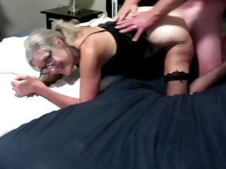 Mature Wife Fucked Doggystyle Cumshot On Her Ass