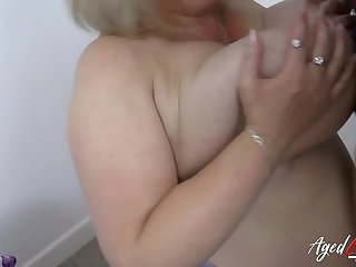 AgedLove Melons Marie and her big natural boobs