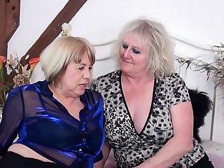 AgedLovE Claire Knight and Auntie Trisha Hardcore