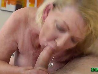 Wicked grandma getting fucked