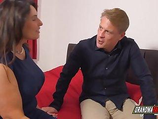 gilf with massive tits