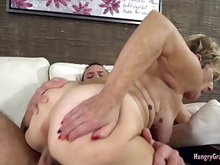 Experienced bimbo fucked by a guy half her age