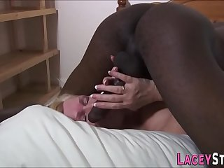 Lacey Star fucked silly by a black dude