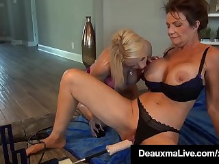 Cocky Cougars Deauxma &_ Savannah Steele Fuck A Dick Driller!