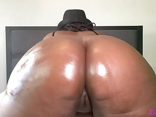 7 Minutes Of Huge Ebony BBW Booty Twerking