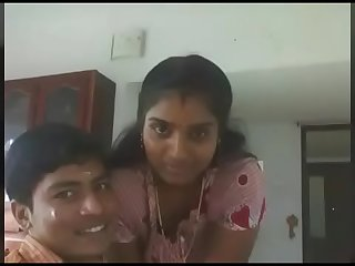 Indian mom kissing and orla sex by young boy