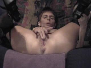 Older Lady Having A Great Orgasm