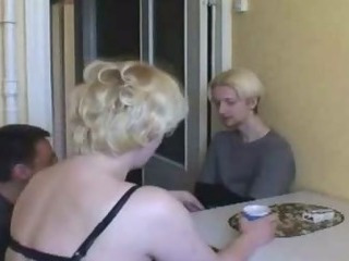Mother Gangbanged By Son and Friends 1