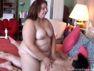 Sexy BBW MILF enjoys a long hard fuck