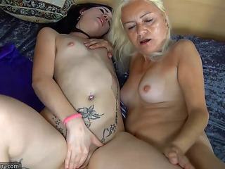 Mom teaches young girl how to masurbate