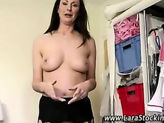 Check nasty stockings mature bitch