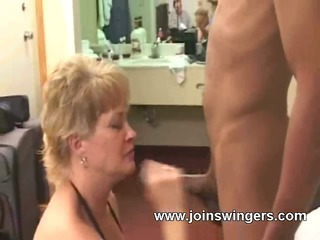Interracial swinger twosome