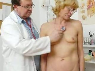 Blondhaired gramma fuck hole exam