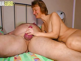 AMATEUR EURO  German Adult Couple In Real Homemade Porn Movie