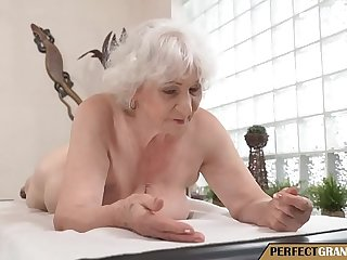 a massage for the granny