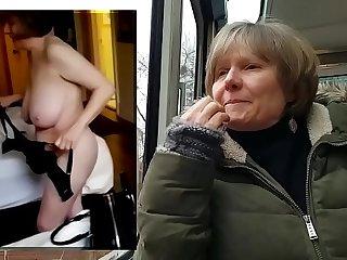 MarieRocks public vs private naked GILF